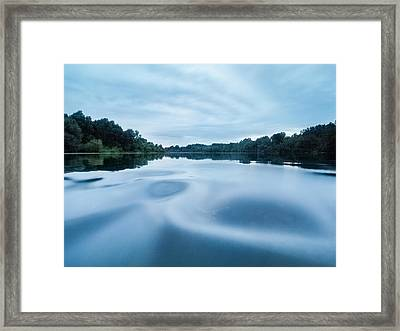 Yin And Yang Framed Print by Davorin Mance
