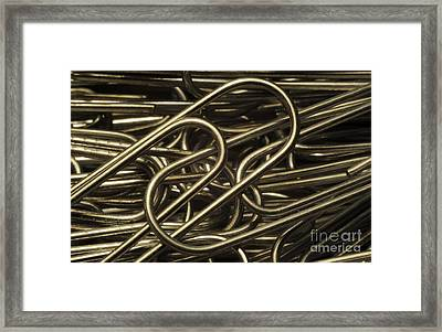 Yin-yang Framed Print by Luke Moore