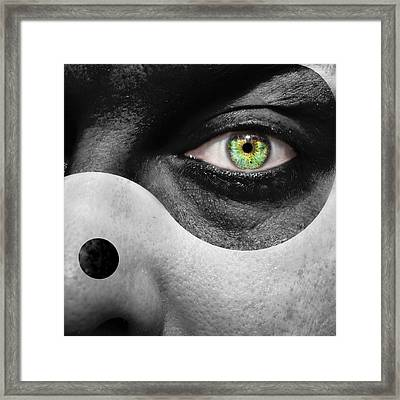 Yin Yang Framed Print by Semmick Photo