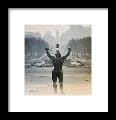 Stallone Framed Prints