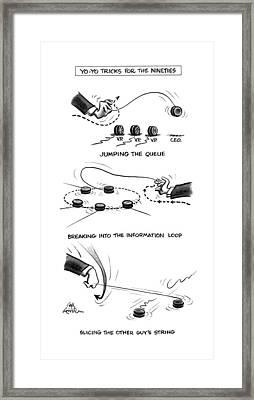 Yo-yo Tricks For The Nineties Framed Print