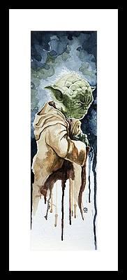 Yoda Framed Prints