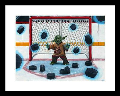 Goalie Framed Prints