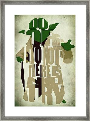 Yoda - Star Wars Framed Print