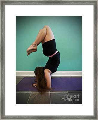 Yoga Study 10 Framed Print