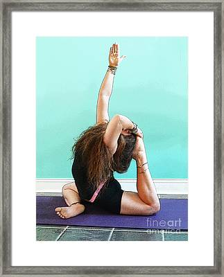 Yoga Study 3 Framed Print