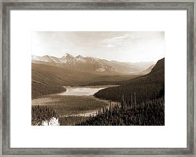 Yoho Park Reserve Framed Print