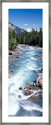 Yoho River, British Columbia, Canada Framed Print by Panoramic Images