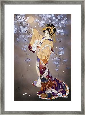 Yoi Framed Print by Haruyo Morita