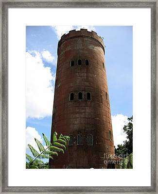 Yokahu Tower Framed Print by Christine Stack