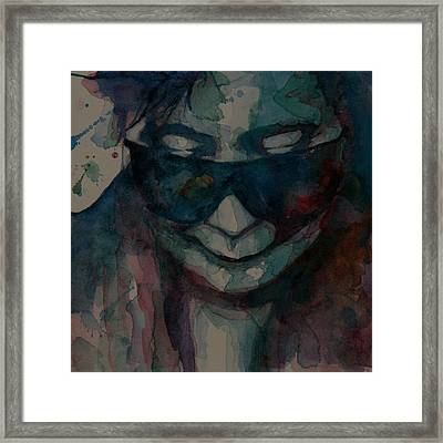 I Don't Know Why Framed Print