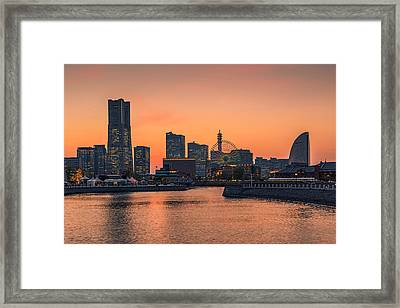 Yokohama 03 Framed Print by Tom Uhlenberg