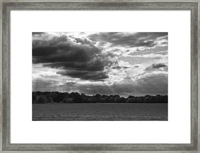 Yonder Breaks Framed Print by Christi Kraft