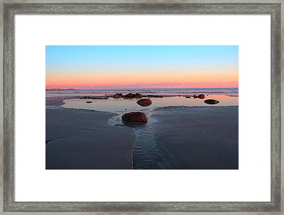 York Beach Framed Print by Andrea Galiffi