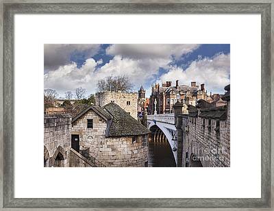 York Framed Print by Colin and Linda McKie