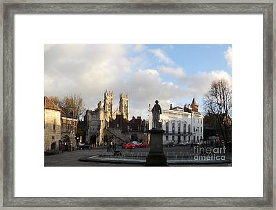 York Gallery Square Framed Print by Neil Finnemore