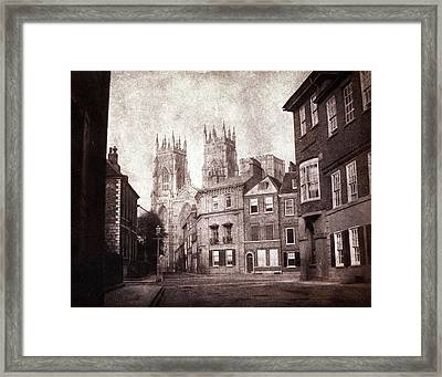 York Minster Framed Print by British Library
