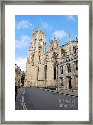 York Minster From The South Framed Print
