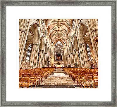 York Minster I Framed Print by Jack Torcello