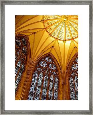 York Minster Framed Print by Jody Partin