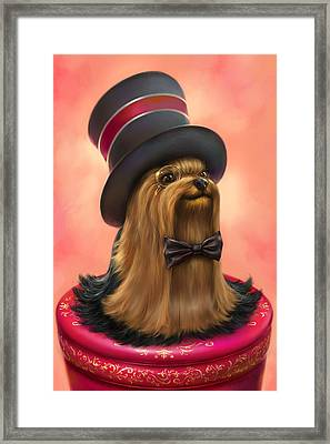York The Gentledog Framed Print