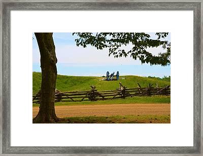 York Town Battlefield Framed Print