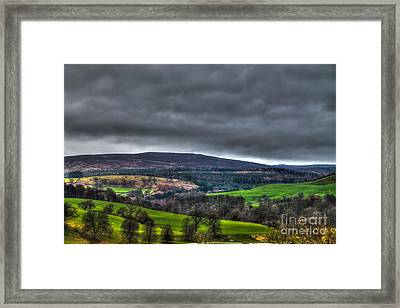 Yorkshire Dales Of Wharfedale Framed Print by Juha Remes
