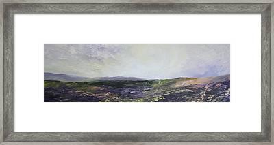 Yorkshire Moors Framed Print