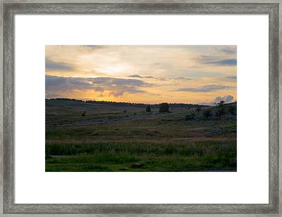 Yorkshire - Sheepwash Osmotherley Framed Print by Scott Lyons