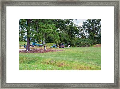 Yorktown Battlefield Framed Print