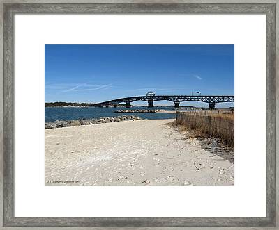 Yorktown Beach Framed Print