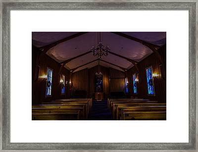Yosemite Chapel Framed Print by Scott McGuire