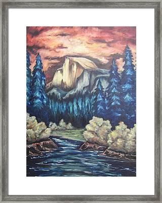 Yosemite Framed Print by Cheryl Pettigrew