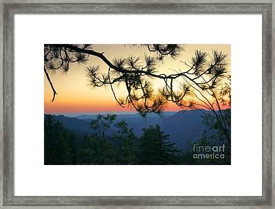 Yosemite Dusk Framed Print by Ellen Cotton