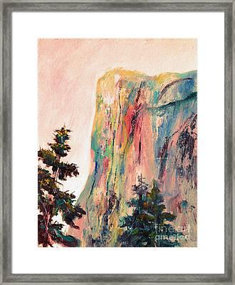 Yosemite El Capitan Framed Print by Carolyn Jarvis