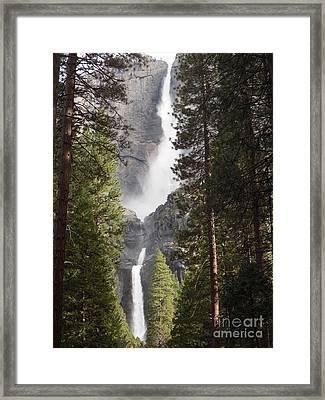 Yosemite Falls 2013 Framed Print by Audrey Van Tassell