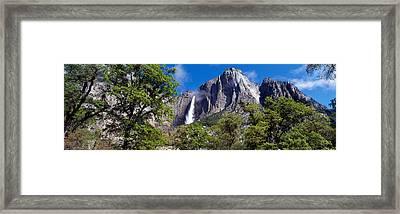 Yosemite Falls Yosemite National Park Ca Framed Print by Panoramic Images