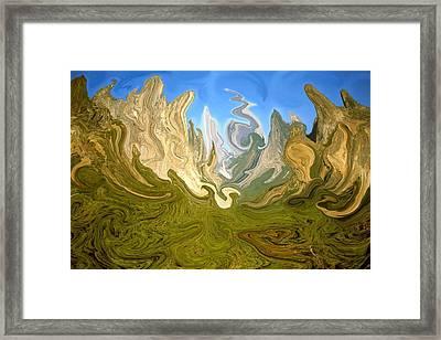 Yosemite Fantasy - Modern Art Framed Print by Art America Online Gallery