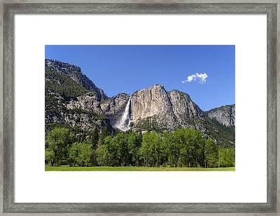 Yosemite Great Falls Framed Print by Francesco Emanuele Carucci