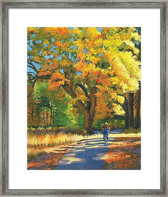 Yosemite In Autumn Framed Print