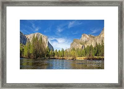 Yosemite Framed Print by Jane Rix