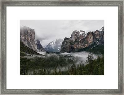 Yosemite Framed Print by Jay Seeley