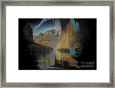 Yosemite Framed Print by Lin Petershagen