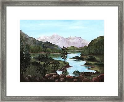 Yosemite Meadow Framed Print by Anastasiya Malakhova