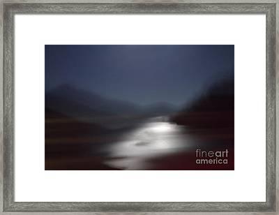 Yosemite Moonlight Framed Print by Tonja Gabryshak Howard