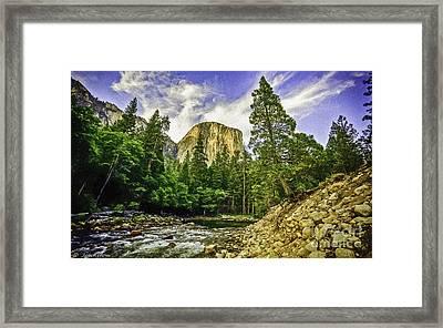 Yosemite National Park El Capitan Framed Print