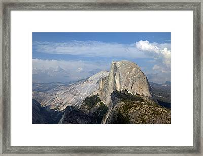 Yosemite National Park Half Dome Framed Print