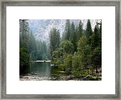Framed Print featuring the photograph Yosemite National Park by Laurel Powell