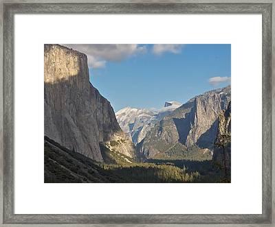 Yosemite National Park Framed Print by Steven Lapkin