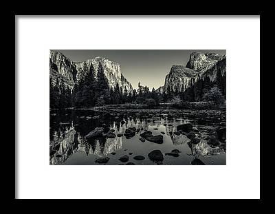 El Capitan Framed Prints